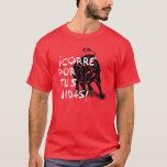San Fermin Encierro: ¡corre Por Tus Vidas!, T-shirt at Zazzle