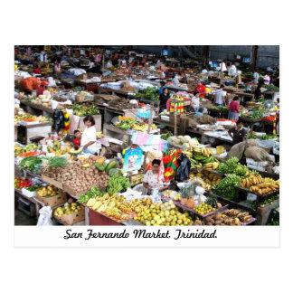 San Fernando Market, Trinidad Postcard