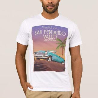 San Fernando Valley California vintage travel post T-Shirt