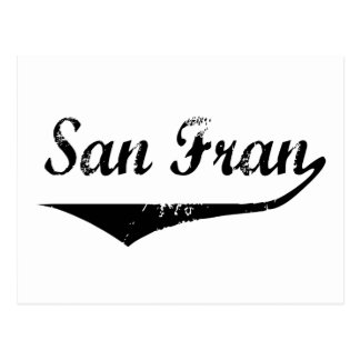 San Fran Postcard