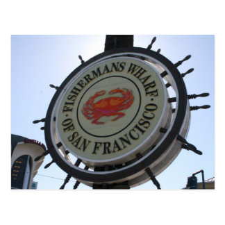 san fran sign postcards