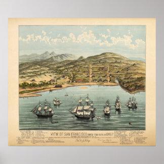 San Francisco, 1847 (Bosqui) BigMapBlog.com Posters