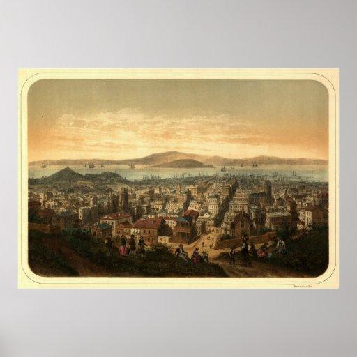 San Francisco, 1860 Póster