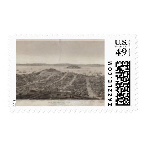 San Francisco, 1862 de la colina rusa Franqueo