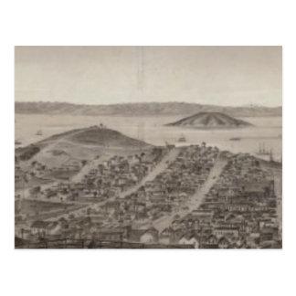 San Francisco, 1862 de la colina rusa Postales