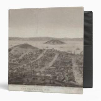 San Francisco, 1862 from Russian Hill Vinyl Binder