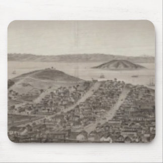 San Francisco, 1862 from Russian Hill Mouse Pad