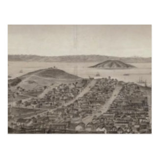 San Francisco, 1862 from Russian Hill Post Cards