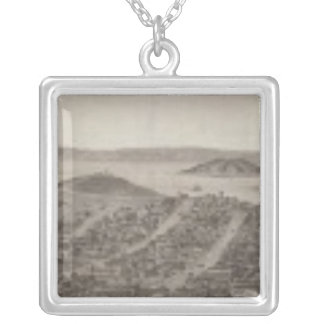 San Francisco, 1862 from Russian Hill Silver Plated Necklace