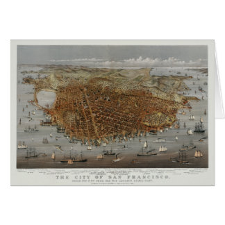 San Francisco 1878 Card