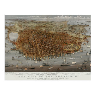 San Francisco 1878 Postales
