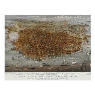 San Francisco 1878 Postcard