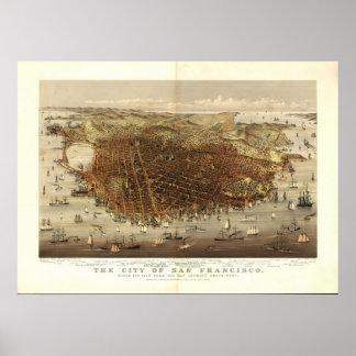 San Francisco: 1878 Poster