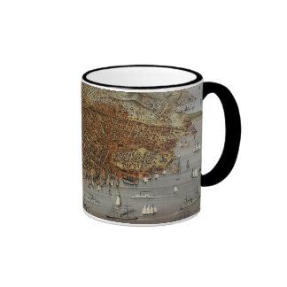 San Francisco 1878 Ringer Mug