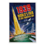 San Francisco 1939 World's Fair Vintage Poster