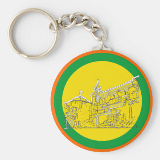 San Francisco 1986 art The MUSEUM Zazzle Drawing Key Chains