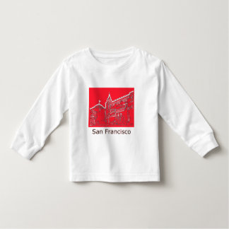 San Francisco 1986 Ghirardelli Square The MUSEUM Toddler T-shirt