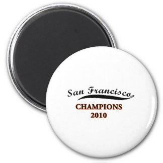 san francisco 2010 champs magnet