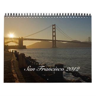 San Francisco 2012 Calendar