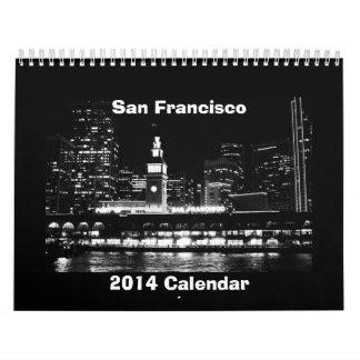 San Francisco 2014 calendar