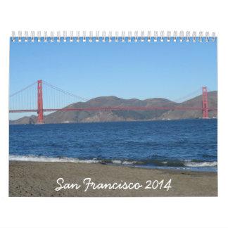 San Francisco 2014 Calendarios