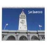San Francisco 2016 Calendario De Pared