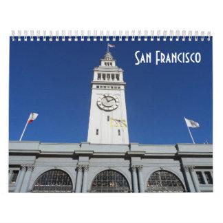 San Francisco 2018 Calendar