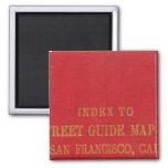 San Francisco 2 2 Inch Square Magnet
