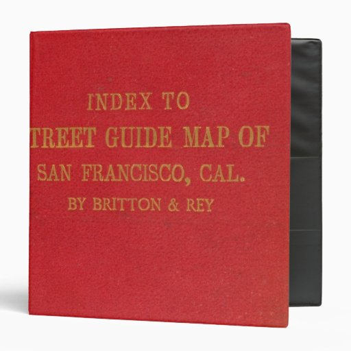 San Francisco 2 Binder
