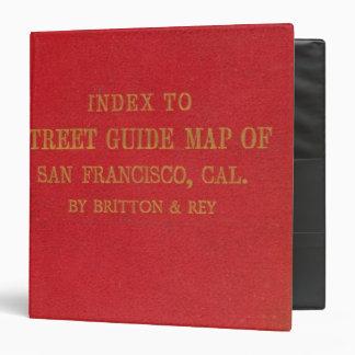 """San Francisco 2 Carpeta 1 1/2"""""""