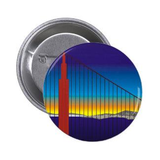 San Francisco 2 Inch Round Button