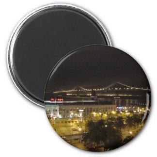 San Francisco 2 Inch Round Magnet