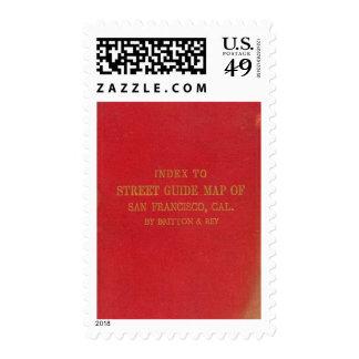 San Francisco 2 Postage Stamp