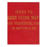 San Francisco 2 Tarjeta Postal