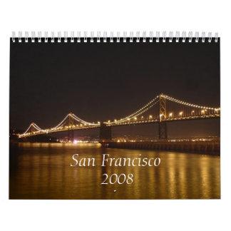San Francisco, 2da versión 2008 Calendarios De Pared