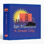 SAN FRANCISCO A Great City Avery Binder