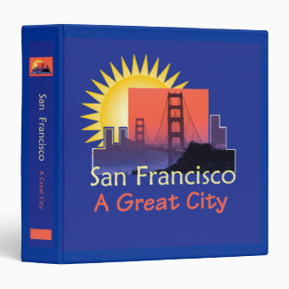SAN FRANCISCO A Great City Avery Binder