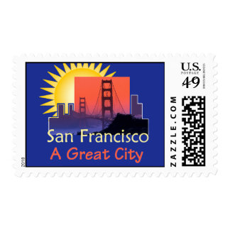SAN FRANCISCO A Great City Postage