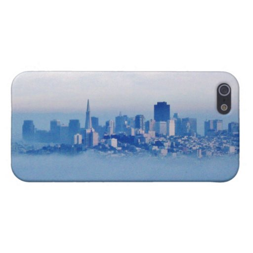 San Francisco above the clouds Case For iPhone 5