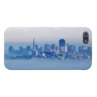 San Francisco above the clouds Cover For iPhone SE/5/5s