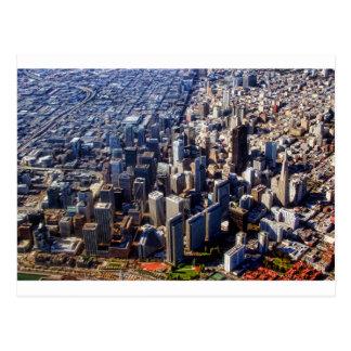 San Francisco Aerial View Post Card