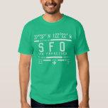 San Francisco Airport Code T Shirt