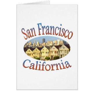 San Francisco Alamo Square Card
