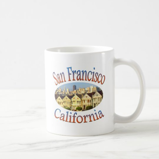 San Francisco Alamo Square Coffee Mug