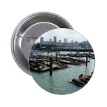 San Francisco and Pier 39 Buttons