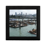 San Francisco and Pier 39 City Skyline Photography Gift Boxes