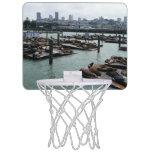 San Francisco and Pier 39 Mini Basketball Hoop