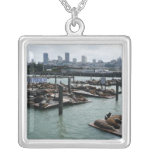 San Francisco and Pier 39 Necklace