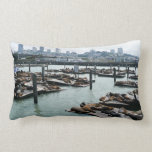 San Francisco and Pier 39 Pillow