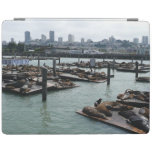 San Francisco and Pier 39 Sea Lions City Skyline iPad Smart Cover